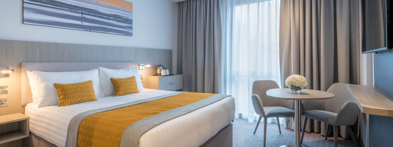 Deluxe double room at Maldron Hotel South Mall Cork City