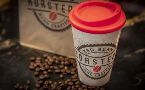 Red Bean Roastery takeaway coffee cup