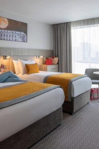 Twin room at Maldron Hotel South Mall Cork City